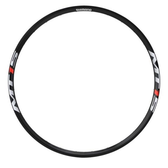Shimano velg WH MT15 voor/achter 29 inch disc 28 gaats zwart