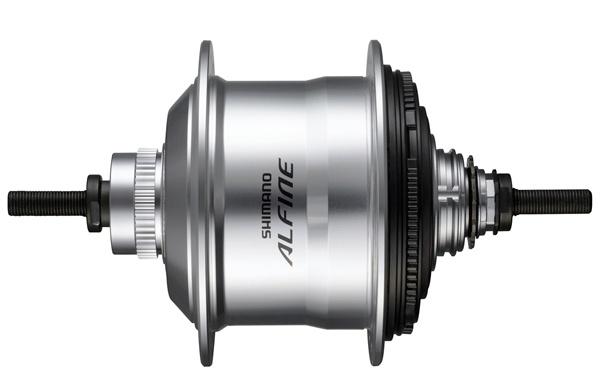 Shimano versnellingsnaaf Alfine SG S7001 11V 16G 187/135 zilver