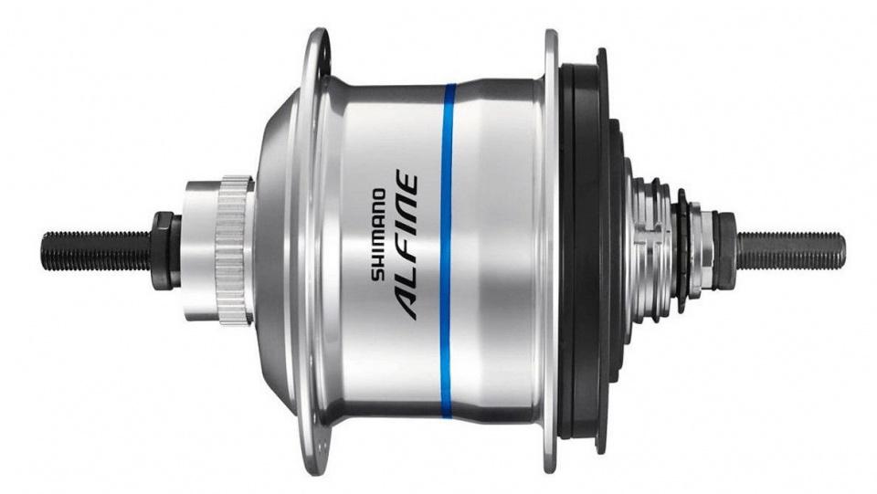Shimano versnellingsnaaf Alfine SG S7051 11V 16G 187/135 zilver