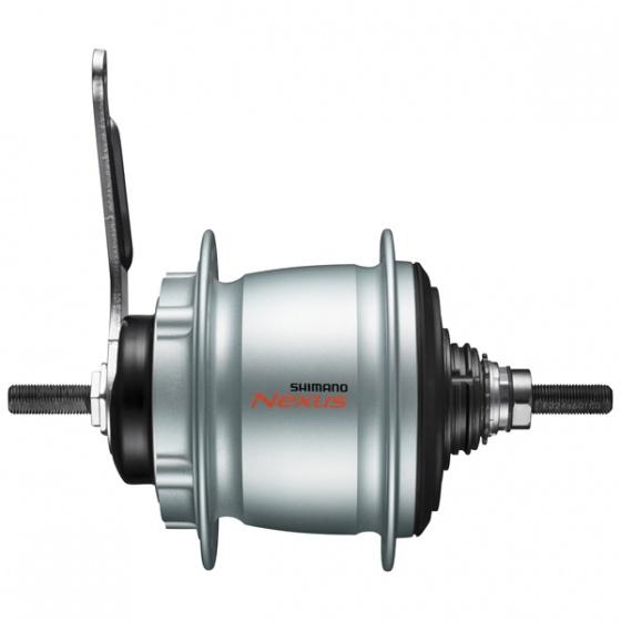 Shimano versnellingsnaaf Nexus SG C6060 8V 16G 187/32 zilver