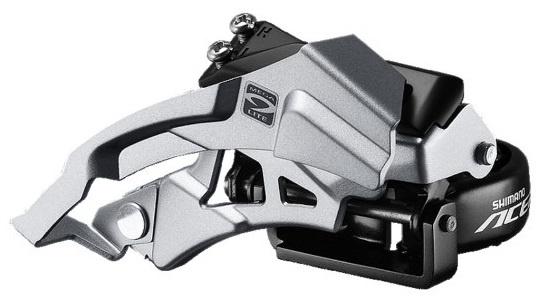 Shimano voorderailleur Acera M3000 9S Triple zilver