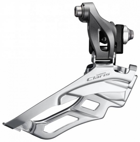 Shimano voorderailleur Claris R2030 8S triple zilver