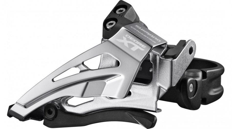 Shimano Voorderailleur Deore XT FD M8025 L 11V Zilver Zwart