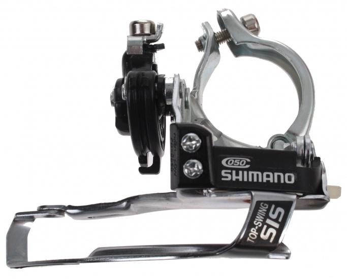 Shimano Voorderailleur FD C050 zilver/zwart