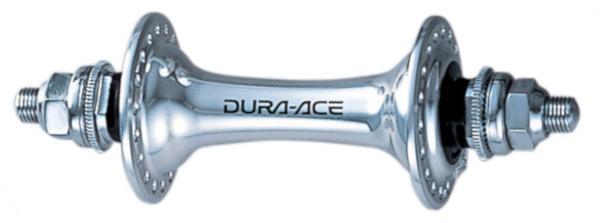Shimano voornaaf Dura Ace HB 7710 32 gaats 100 mm zilver