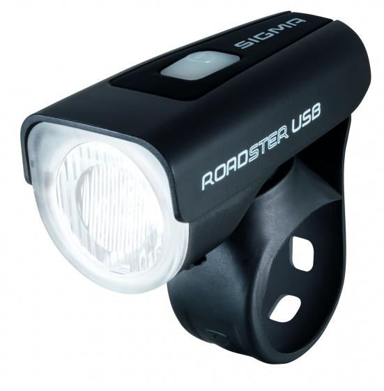 Sigma Batterij koplamp LED Roadster 25 Lux USB oplaadbaar