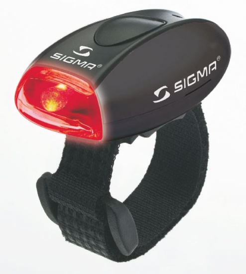 Sigma Micro Zwart / Rood LED 17235