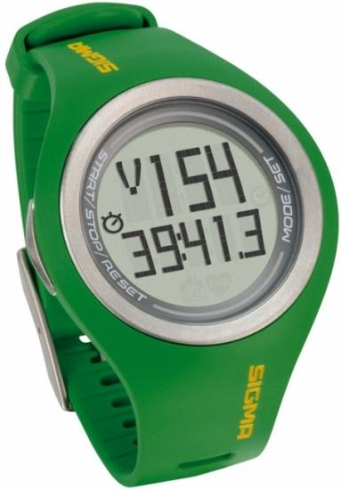 Sigma PC 22.13 Hartslagmeter Heren Groen