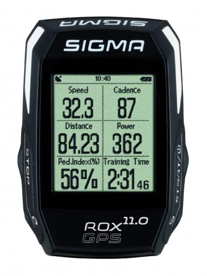 Sigma fietscomputer Rox GPS 11.0 set zwart