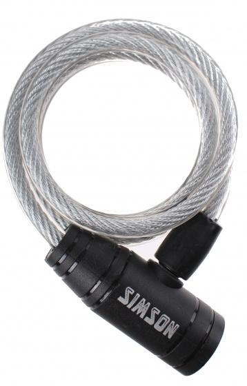 Simson 020838 Simson spiraalslot 900 x 8 mm zilver