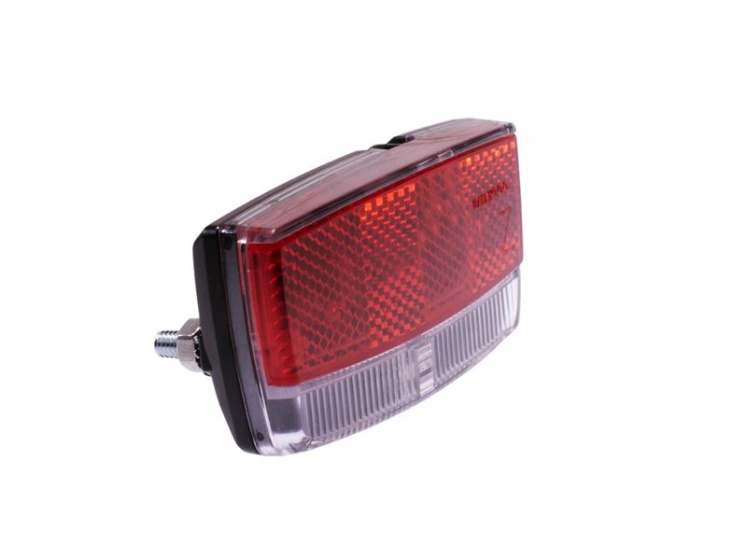 Simson achterlicht Airy led naafdynamo bagagedrager rood