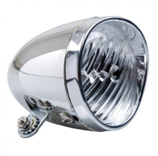 Simson koplamp Classic batterijen led zilver