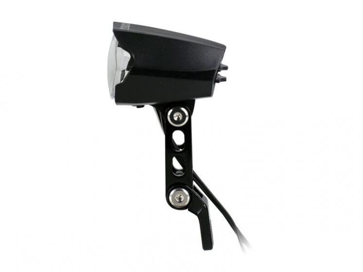 Simson koplamp Luminous 30 lux led naafdynamo zwart