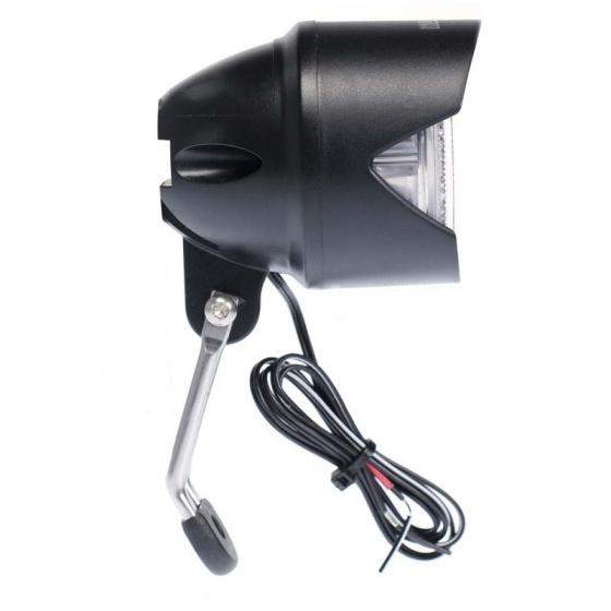 Simson koplamp Truss E bike voorvork zwart