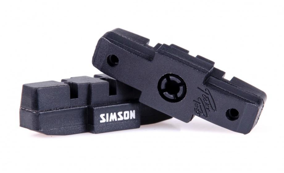 Simson remblokken Magura bulk hydraulische velgrem 25 sets