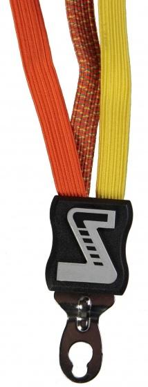 Simson Snelbinder Triobinder Extra Kort 49cm Oranje Geel