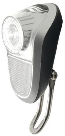 Simson voorlicht batterij led zwart/zilver