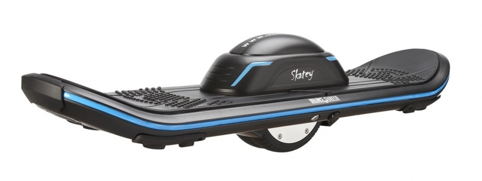 Skatey Balance Surfer Unisex Zwart