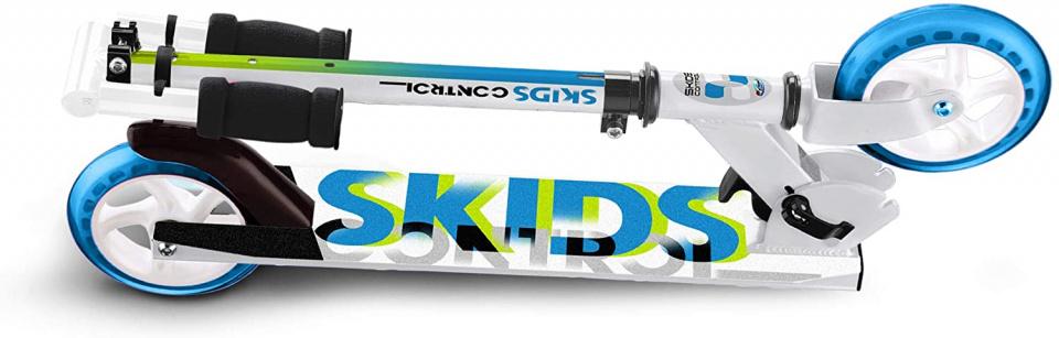 Skids Control Control Junior Wit/Blauw