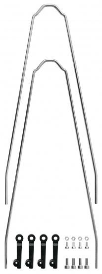 SKS Spatbordstang Set Velo 55 Cross Staal 26 29 Inch Zilver