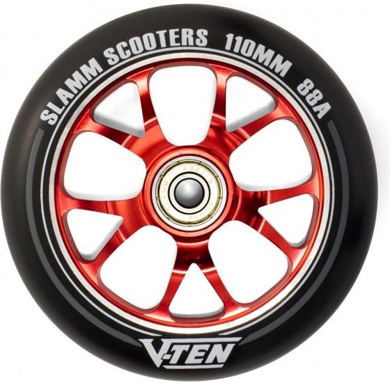 Slamm V Ten II 110 mm wiel stuntstep rood per stuk