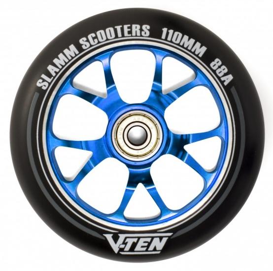 Slamm V Ten II 110 mm wiel stuntstep blauw per stuk