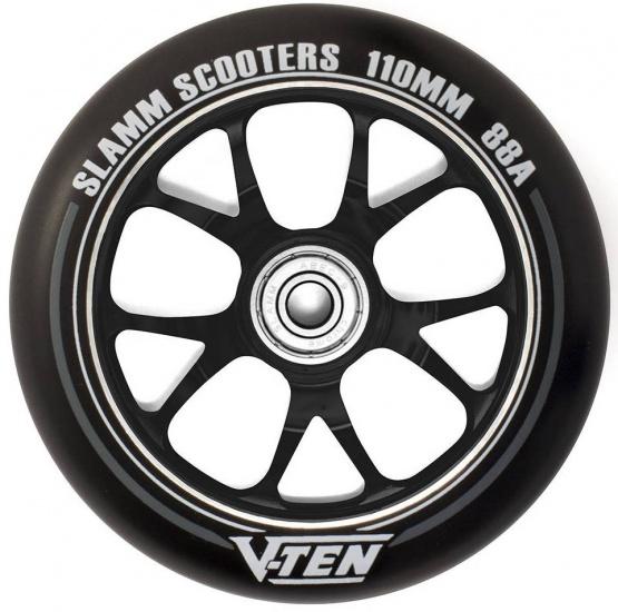 Slamm V Ten II 110 mm wiel stuntstep zwart per stuk