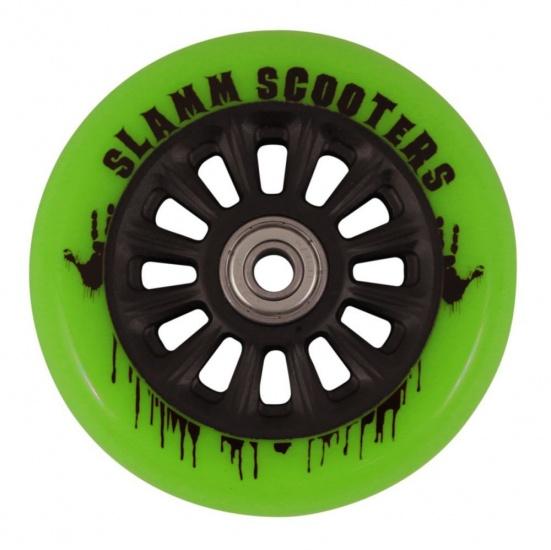Slamm Wiel SL509 Nylon Core 100 mm Groen
