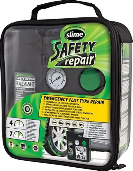 Slime Safety Repair zwart/groen 4 delig