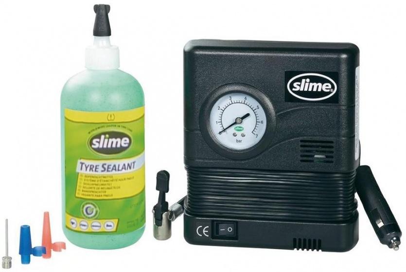 Slime bandenreparatieset Smart Repair zwart/groen 10 delig