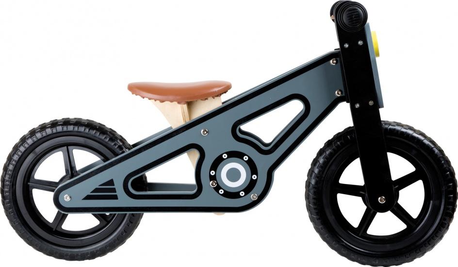 Small Foot Loopfiets Speedy 12 Inch Junior Grijs
