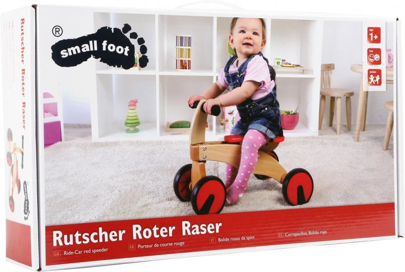 Small Foot loopfiets Junior Rood