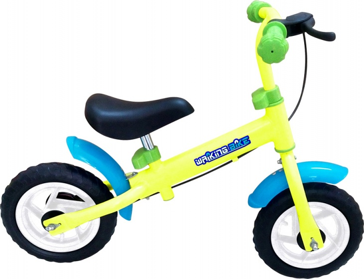 Small Foot loopfiets Junior Trommelrem Groen