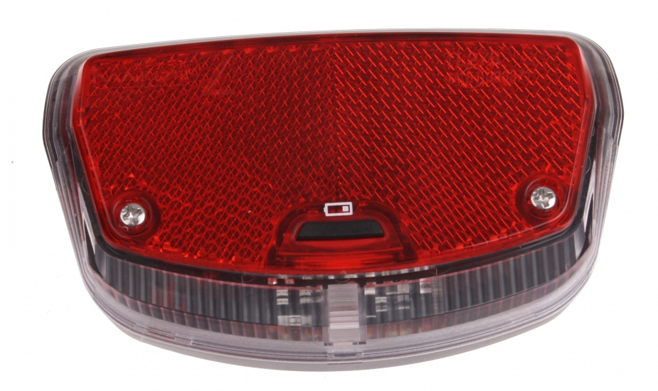 Smart Achterlicht Tunnel batterijen 80 mm rood