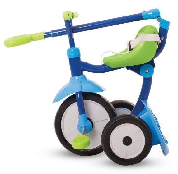 smarTrike Folding Fun 3 in 1 driewieler Junior Groen/Blauw