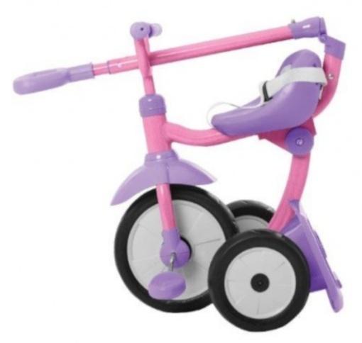 smarTrike Folding Fun 3 in 1 driewieler Meisjes Roze/Paars