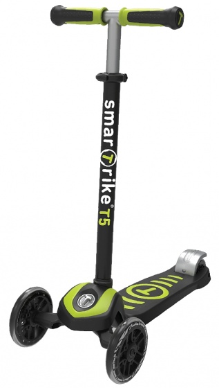 smarTrike Scooter T5 Junior Zwart/Groen