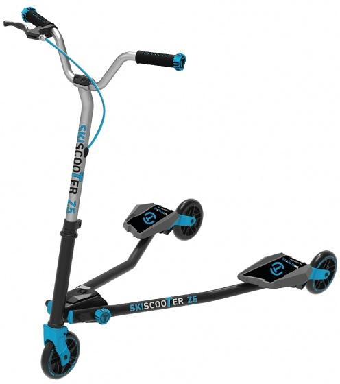 smarTrike Skiscooter Z5 Junior Zwart/Blauw
