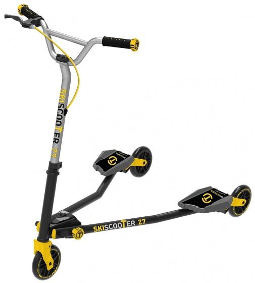 smarTrike Skiscooter Z7 Junior Zwart/Geel