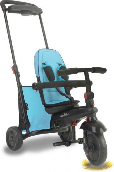 smarTrike 7 in 1 driewieler smarTfold 500 Junior Blauw/Zwart