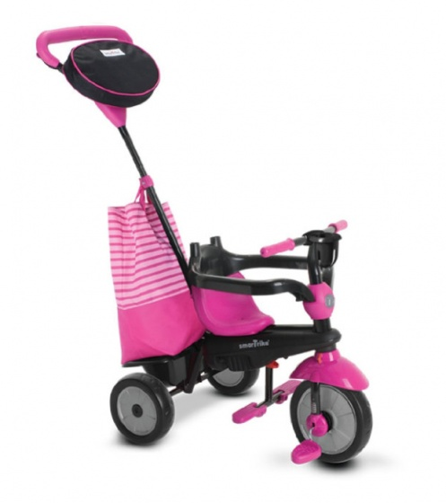 smarTrike Swing DLX 4 in 1 driewieler Meisjes Roze