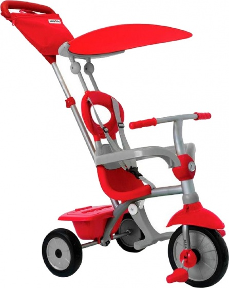 Smartrike - Zip Plus Junior Rood/grijs