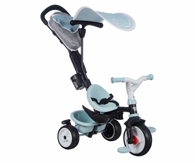 Smoby Baby Driver Plus Junior Blauw/Grijs