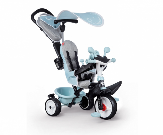 Smoby - Baby Driver Plus Junior Blauw/grijs