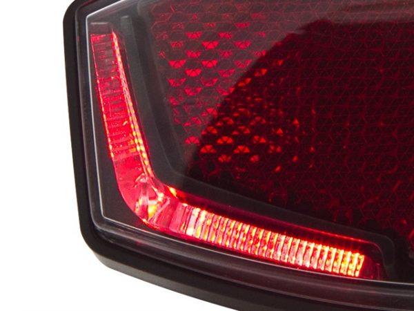 Spanninga achterlamp Lineo batterij led rood