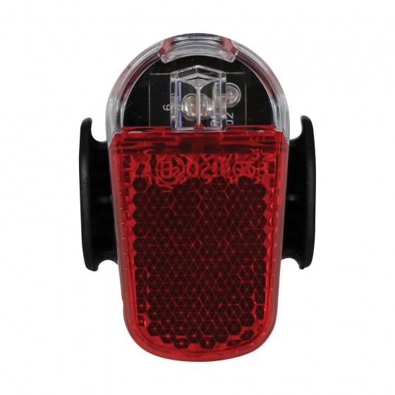 Spanninga achterlamp Presto 2 batterij zwart