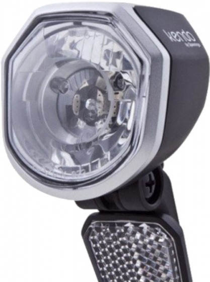 Spanninga koplamp Kendo led 6V zwart