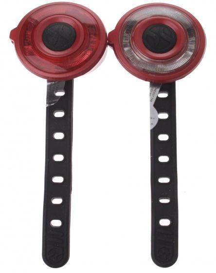 Spanninga LED verlichtingsset 4 x 3 cm rood