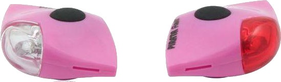 Spanninga verlichtingsset Pirata led batterij roze