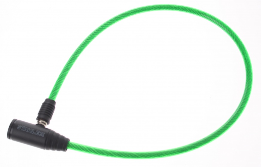 Stahlex Kabelslot 650 x 8 mm groen